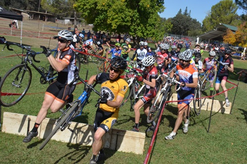 Sacramento Cyclocross at Orangevale Park in 2013